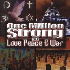 One Million Strong, Vol. 2: Love Peace & War Various Artists MUSIC CD