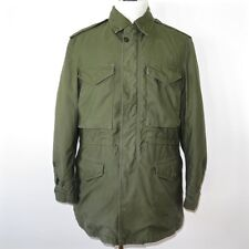 VINTAGE ORIGINAL US ARMY JACKET SHELL FIELD M-1951 M51 MEDIUM LONG 1953