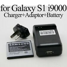 AC Wall Travel Charger Dock Adapter USB for Samsung Galaxy S1 S 1 i9000 Battery