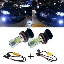 2 H11 CREE LED Projector Fog Light DRL No Error For Mercedes W211 W212 W164 W221