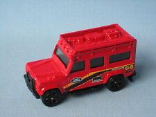 MATCHBOX land rover 110 defender corps rouge Safari 4x4 off road jouet modèle de voiture