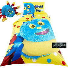 Woolly and Tig Night Night Single Panel Duvet Cover Bedding Bedset Reversible