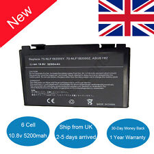 New Battery for ASUS A32-F82 A32-F52 L0690L6 K50IN K70IO K70IC X5DIJ-SX039c UK