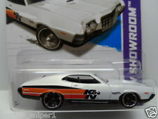 HOT WHEELS 2013 Performance 1972 FORD GRAN TORINO SPORT #242 White Diecast Car