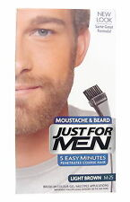 Just For Men Spazzola Colorato Per Barba Marrone Chiaro M-25
