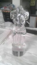 LOREDANO ROSIN SIGNED SCULPTURE GLASS NUDE FEMALE TORSO Make offer!
