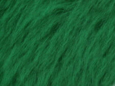 Green Emerald Plain Faux Fur Fabric Short Hair 150cm Wide SOLD BY THE METRE