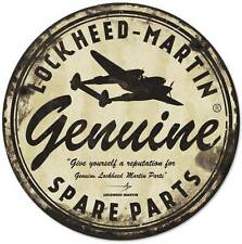 Lockheed Martin Spare Parts Military Aircraft Metal Sign Man Cave Garage LM021
