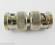 5pcs BNC male To BNC male M-M Coaxial Adapter connectors Nickel