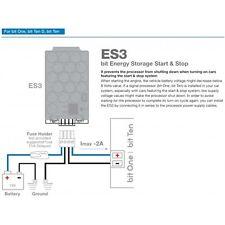 Audison ES3 Stabilisateur de tension pour véhicules avec Start - stop Fonction