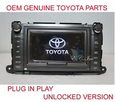 2011 2012 2013 2014 GENUINE TOYOTA SIENNA JBL NAVIGATION DVD CHANGER BLUETOOTH