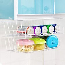 Kitchen Hanging Cabinet Rack Storage Organizer Basket Under Shelf Holder