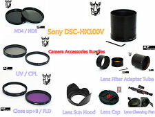 FC1u FILTER KIT - LENS HOOD - LENS CAP - ADAPTER TUBE - PEN for SONY DSC HX200V