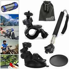 EEEKit Accessories Kit for Ion Air Pro 2/3 Wi-Fi HD Monopod+Bike/Sunction Mount