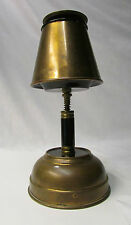 Vintage Brass Musical Lamp Style Pull-Down Shade Ash Tray