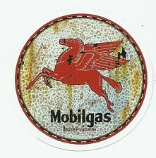 MOBIL MOBILGAS GASOLINE  Sticker Decal