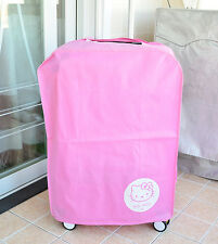 "Hello Kitty Pink Luggage Cover Protector Suitcase Dustproof Cover Fits 24"" KK837"