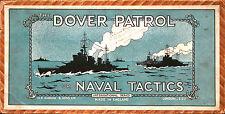 1930s patrulla de Dover Royal Navy táctico de juego de Mesa Todos 80 Piezas en Metal Soportes