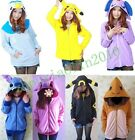 New Pokemon costume Pocket Monster cosplay hoddy hoodie coat kigurumi anime Hot