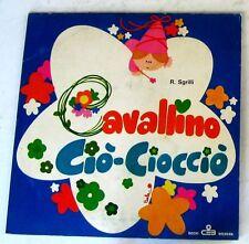 """FIABE - CAVALLINO CIO'-CIOCCIO' - 45gg 7"""" NUOVO"""