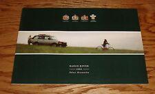 Original 1992 Range Rover Accessories Sales Brochure 92