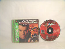 007 Tomorrow Never Dies - PlayStation 1 (PSX) - Complete