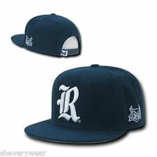 Rice University Owls NCAA Navy Blue Flat Bill Snapback Baseball Ball Cap Hat