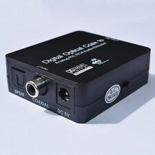 5.1 Dolby&DTS,Digital Optical Coax to Analog R/L RCA Audio Decoder Converter