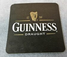Guinness Draught 10 Paper Coasters New  Beer Bar Supplies Man Cave