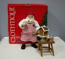 CLOTHTIQUE POSSIBLE DREAMS GINGERBREAD ARCHITECT SANTA, 713378 VERY RARE