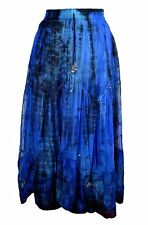 Jordash Tie Dye Panelled Lace Skirt Womens Sequin/Bead Embroidery M/L