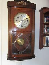 A Gufa German 1920s Mahogany Art & Crafts Wall Clock