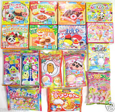 16PCS Popin Cookin Happy Kitchen Kracie Heart ❤Cute Japanese DIY Candy Crafting❤