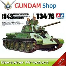 TAMIYA Russian Tank T34/76 1943 Production Model 1/35 Series No. 35059 JAPAN