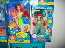 Disney's Little Mermaid Let's Swim Ariel & Mermaid &Springtime Ariel Tyco 1991