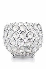 """Crystal Globe Blings Tealight Votive Candle Holders Wedding Centerpieces Lamp 4"""""""