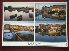 POSTCARD CORNWALL PADSTOW - EARLY MORNING TRANQUILTY