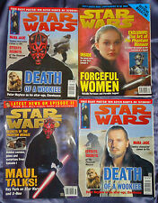 Star Wars #88 Official magazine by Titan. Issues 24-30, 2000, 8 mags, UK seller