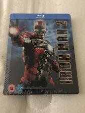 Ironman 2 Steelbook Embossed (Blu-ray) Mint & Sealed Rare Play.com Exclusive.