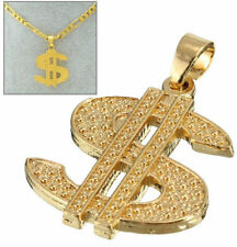FD4266 Dazzling Dollar Money Sign Pendant For Hiphop Chain Necklace Jewelry