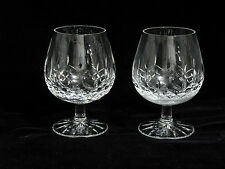 Galway Crystal Longford Smooth Stem Brandy Snifters (2)