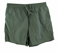 DOLCE & GABBANA Mens Military Green Nylon Swimwear Shorts RMB022 Sz L/5 NWT $355