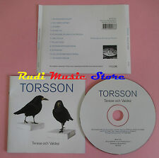 CD TORSSON Terese och valdez 2002 RIM & RESON BLCD24 no lp mc dvd vhs