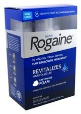 Rogaine Men's Hair Regrowth Treatment Foam-3 month supply Exp 06/:2017-05/2018