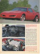 1992 Pontiac Firebird Firehawk Road Test Article - Must See !!