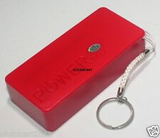 Power Bank 5600mAh For iPhone Cellphone Phablet Samsung Nokia HTC Sony LG(Red)