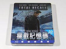 Total Recall Blu-ray Steelbook [Taiwan] OOS/OOP RARE REGION FREE