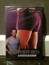 Power 90 Master Series Ploy Legs DVDs Workout Beach Body New
