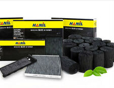 Charcoal activated carbon cabin air filter For Hyundai Terracan (2001~2003) ///