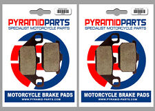 Kawasaki VN 1500 Vulcan 1987 Front & Rear Brake Pads Full Set (2 Pairs)
